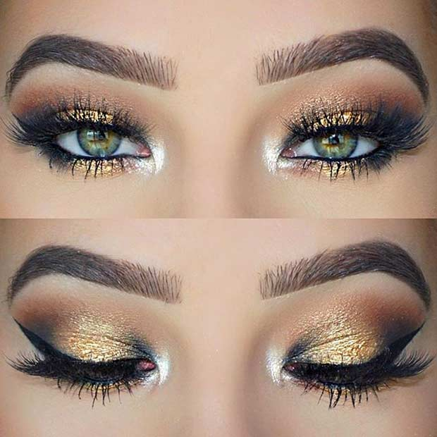 Prom Makeup Green Eyes 31 Pretty Eye Makeup Looks For Green Eyes Stayglam