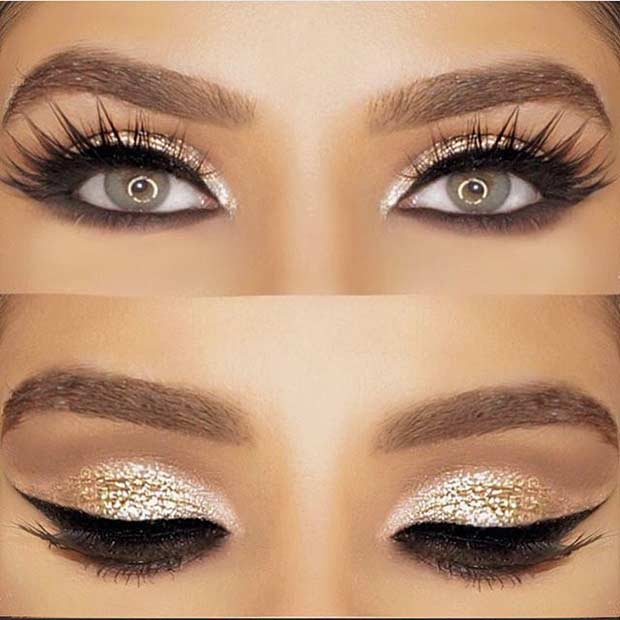 Romantic Eye Makeup 31 Beautiful Wedding Makeup Looks For Brides Stayglam Page 2