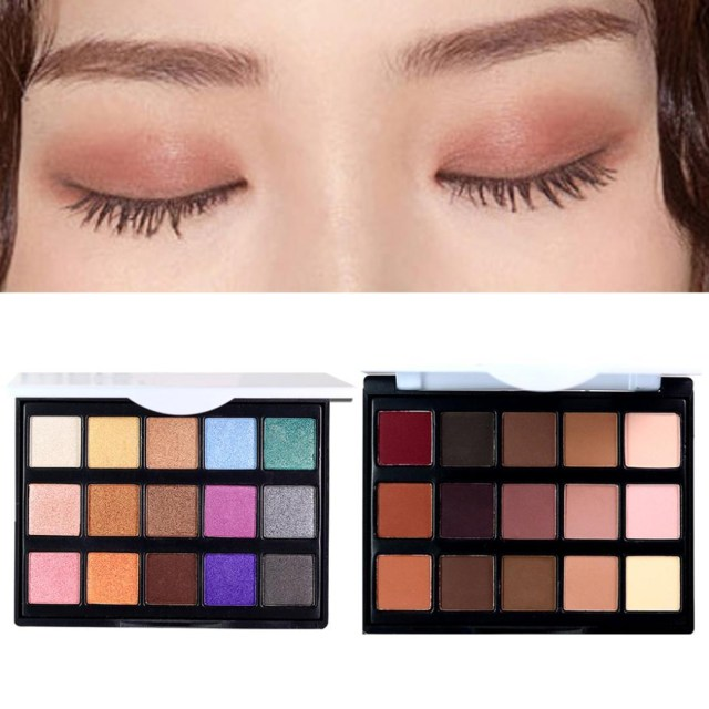 Shiny Eye Makeup Eyeshadow Palette Eye Makeup Smoky Eyeshadow Set Eye Shadow Shiny