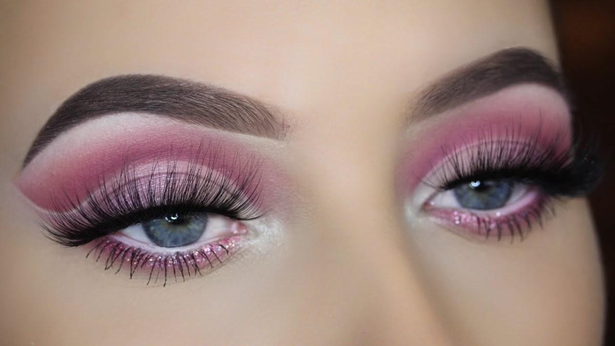 Simple Pink Eye Makeup Pink Cut Crease Eye Makeup Tutorial Youtube