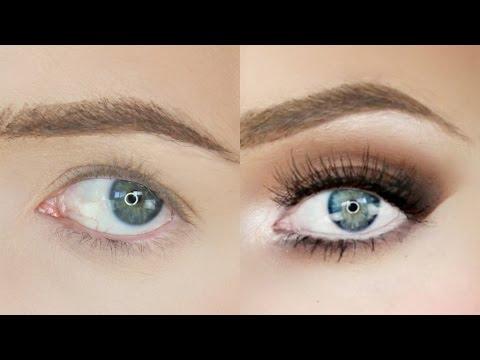 Sleepy Eyes Makeup Droopy Eyes Makeup Tutorial Stephanie Lange Youtube