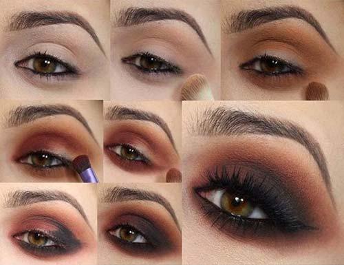 Smokey Eye Makeup Brown 25 Gorgeous Eye Makeup Tutorials For Beginners Of 2019