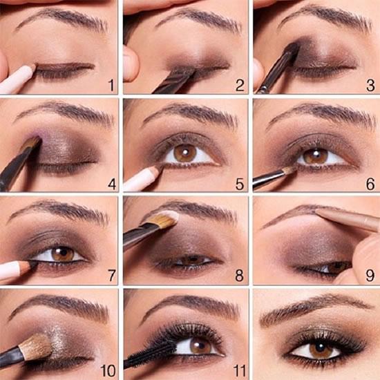 Smokey Eye Makeup Brown Brown Smokey Eyes Makeup Tutorial Womenz Magazine