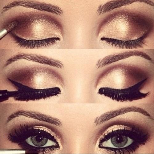 Smokey Eye Makeup Brown How To Do Brown Smokey Eye Makeup Stylewile