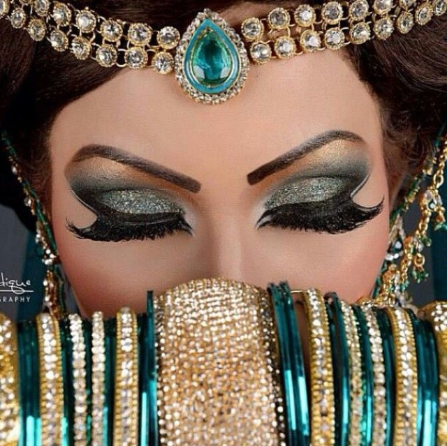 Turkish Eye Makeup Arabic Bridal Party Wear Makeup Tutorial Step Step Tips Ideas 2018
