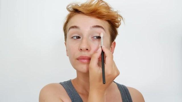 Turkish Eye Makeup Beautiful Makeup Woman Eye Makeup Stock Footage Video 100 Royalty