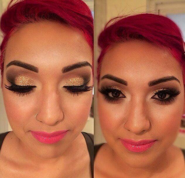 Turkish Eye Makeup Bridal Party Hair Makeup Artist Arabic Makeup English