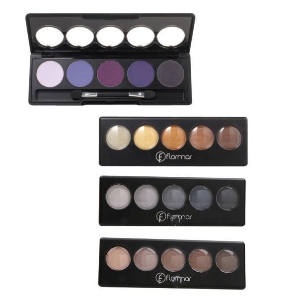 Turkish Eye Makeup Turkey Flormar Color Palette Eyeshadow Professional Makeup 9g In