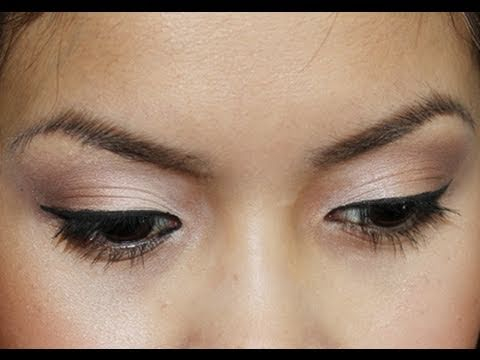 Very Natural Eye Makeup Makeup Tutorial Everyday Neutral Eyeshadow Youtube