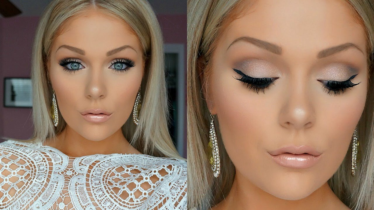 best wedding makeup for blonde hair blue eyes - wemakeupto