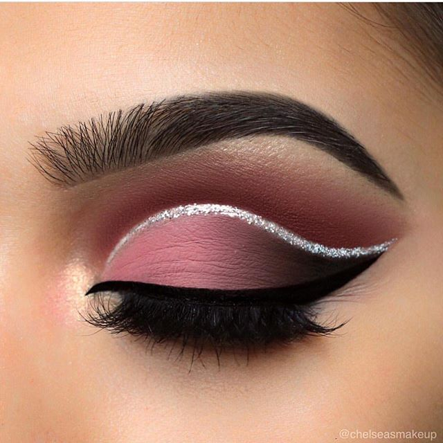 White And Pink Eye Makeup Hottest Eye Makeup Looks Makeup Trends Styles Weekly