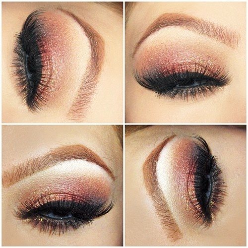 White And Pink Eye Makeup Pretty Pink Bronze And White Eye Makeup The Beauty Thesis