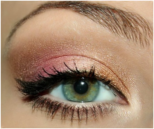 White And Pink Eye Makeup Top 20 Beautiful And Sexy Eye Makeup Looks To Inspire You