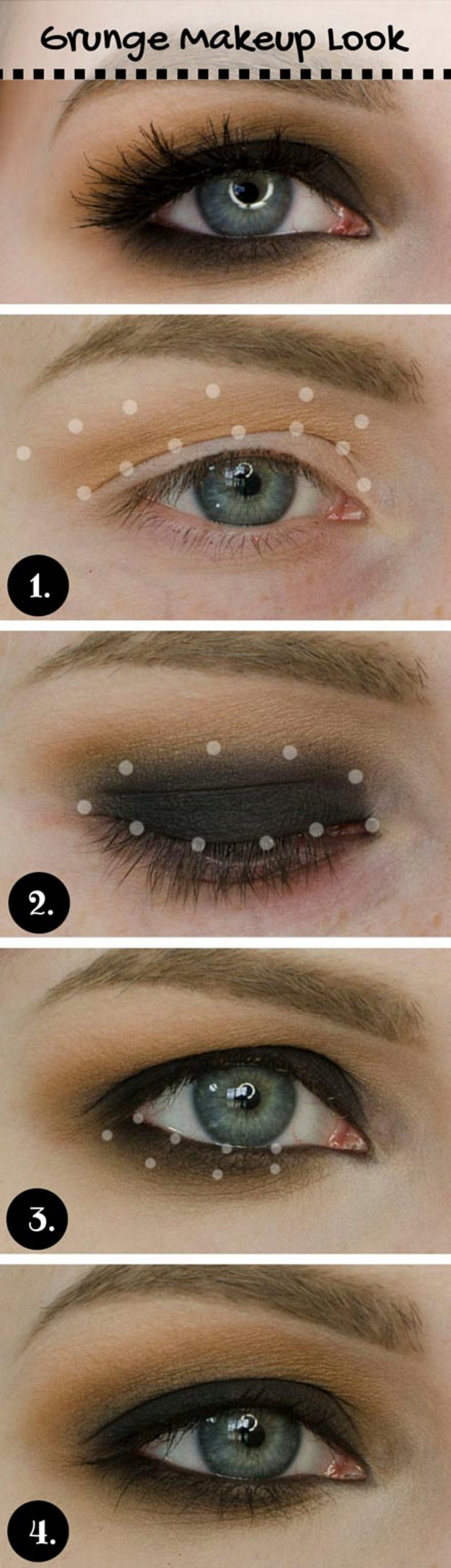 Yellow And Black Eye Makeup 10 Super Easy Step Step Makeup Tutorials For Blue Eyes Styles