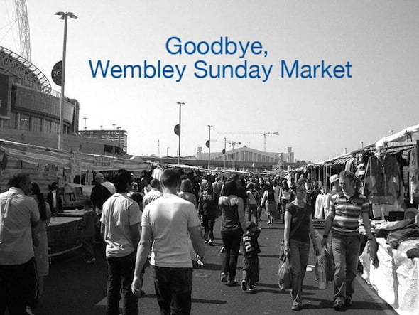 Wembley Stadium Market is Moving