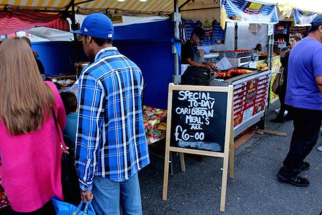 Caribbean stall