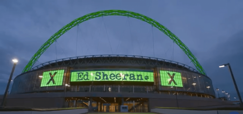Ed Sheeran's Wembley film hits theatres October 22nd