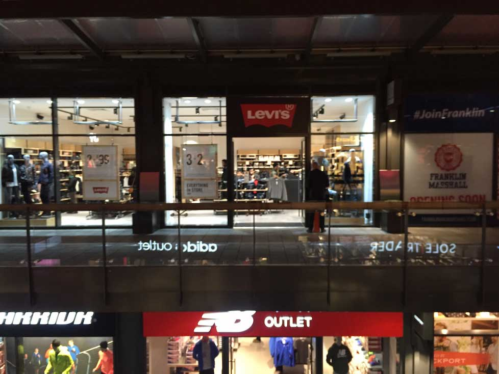 Levi's open first outlet in London