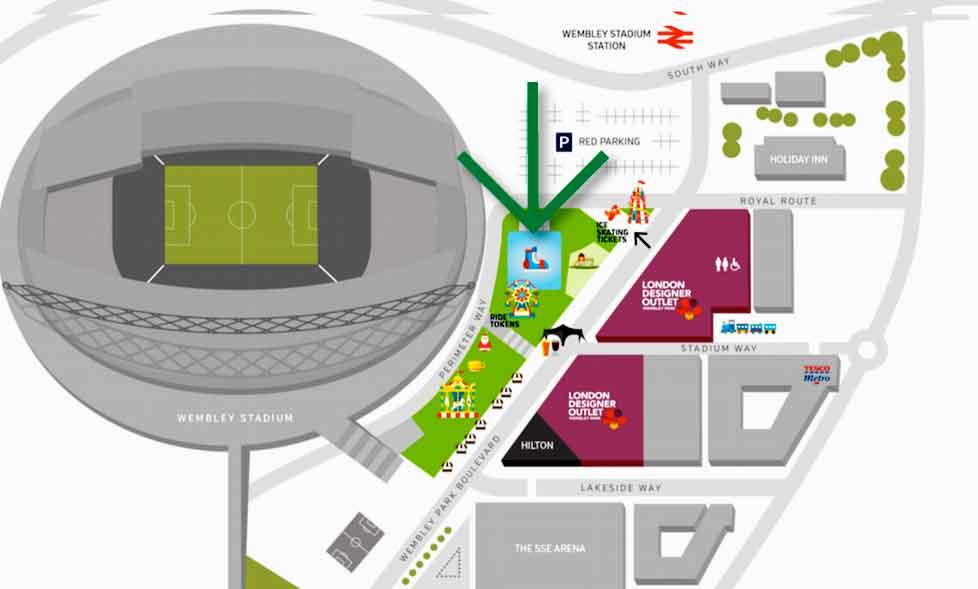 Wembley ice rink 2015