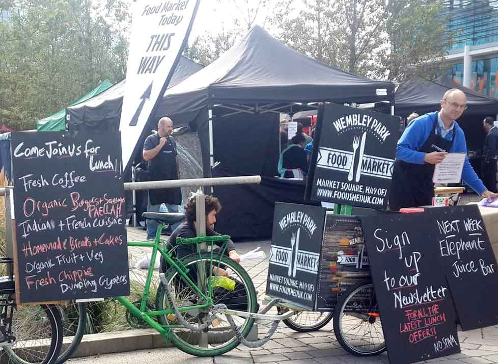 Wembley Market now on during Wembley Stadium events