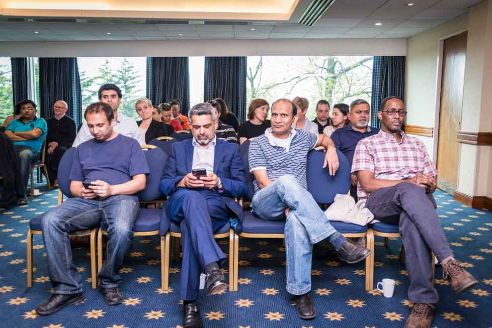 WPRA members were joined by guest including Cllrs Muhammed Butt and Ketan Sheth, at the first WPRA AGM 2016.