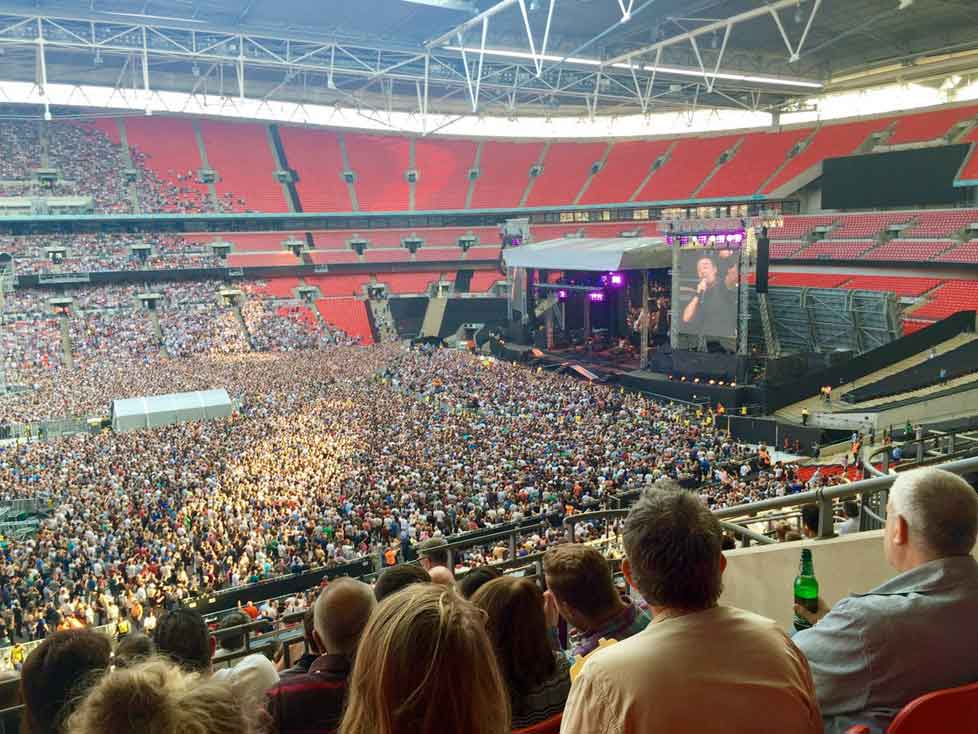 Bruce Springsteen – The River Tour – Wembley Stadium London Review- 5th of June 2016