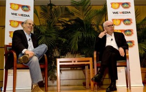 Alan Webber and Michael Wolff at We Media