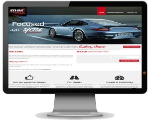 Mar Motors home screen - Wemet Media