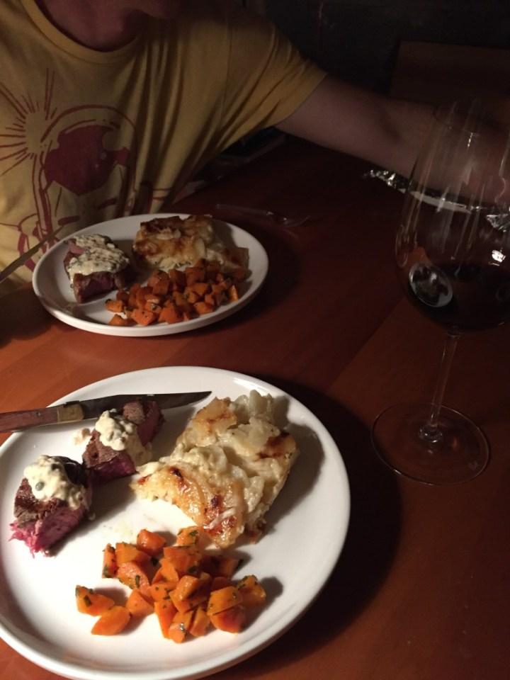 First Dinner