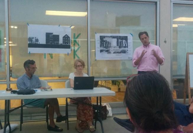 September Outdoor Meeting - Todd Alexander presenting Joy Place / 157 Brackett Street.