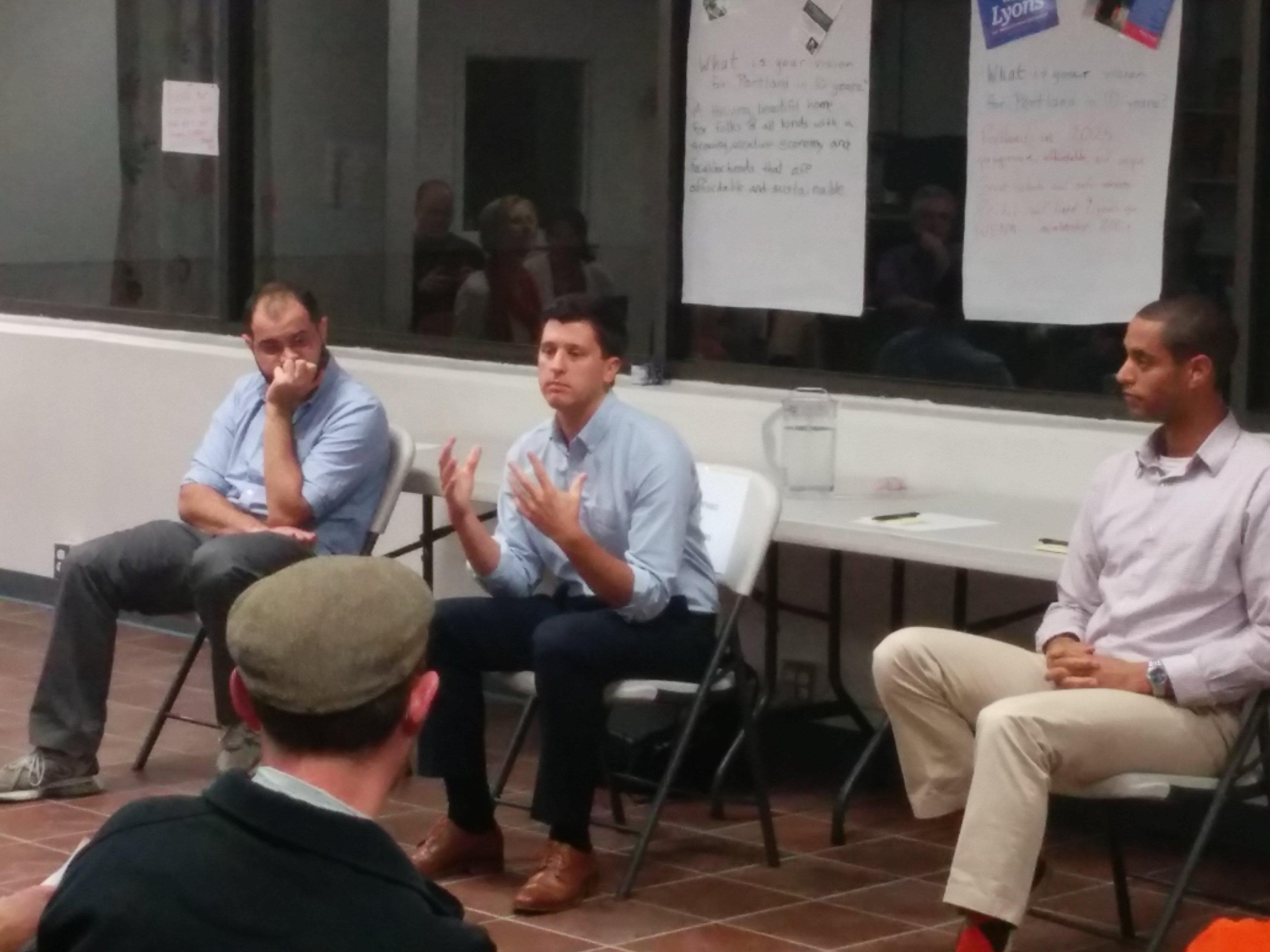WENA and WPNA's Candidates Forum