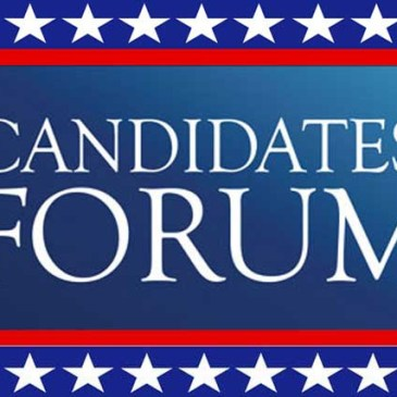 Candidates Forum – Oct. 25 @ 6-8PM