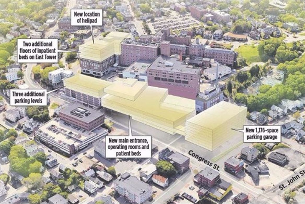 Maine Medical Center Expansion - Learn More - WENA