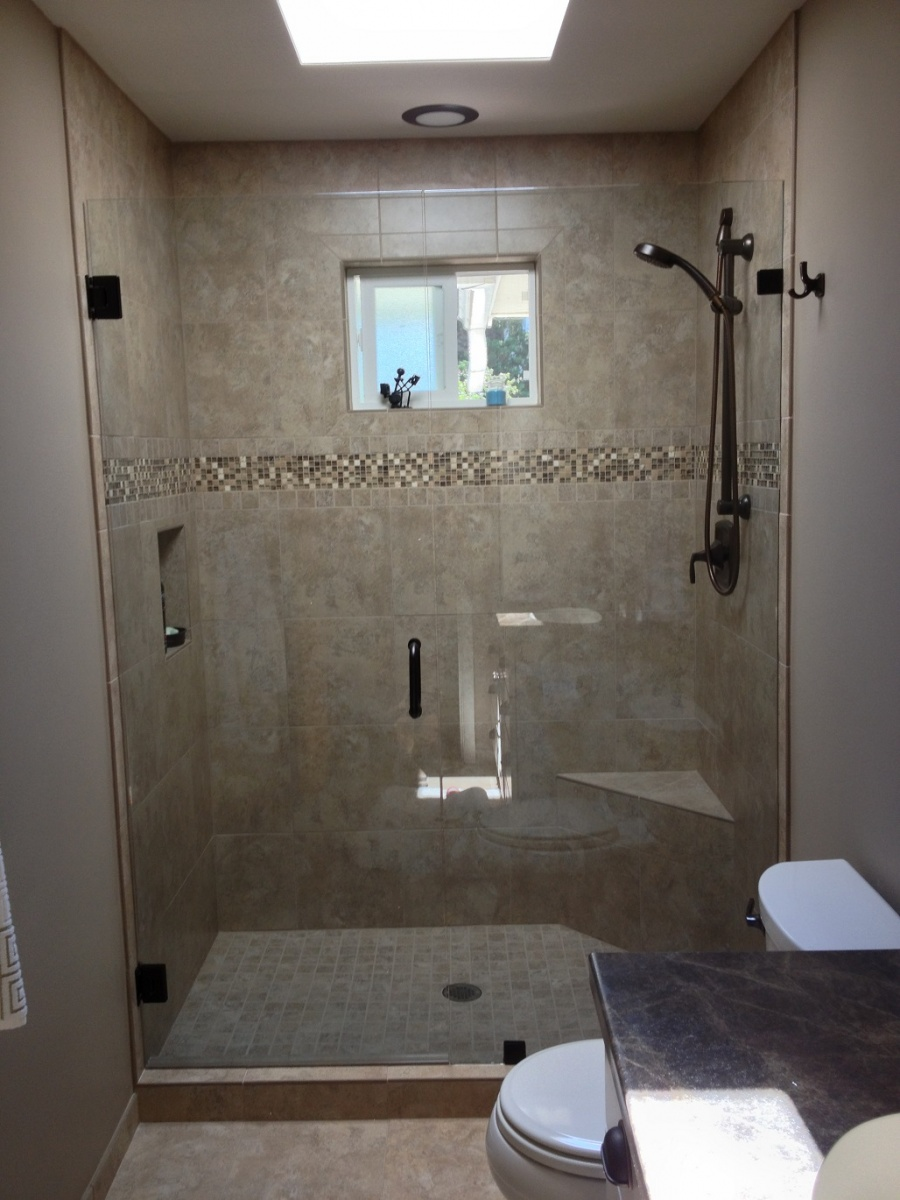 kitchen and bath design center cabinet pantry agalite estate series shower door installed by wenatchee ...