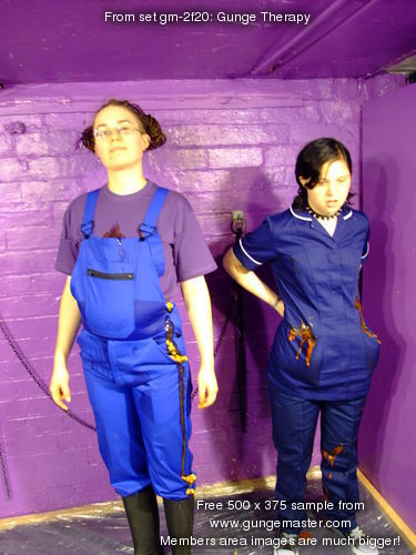 Gunge Therapy  Nurse WendyHousehold gives Maiden the