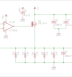 active dummy load alex wende circuit diagram of the dummy load [ 2946 x 1926 Pixel ]