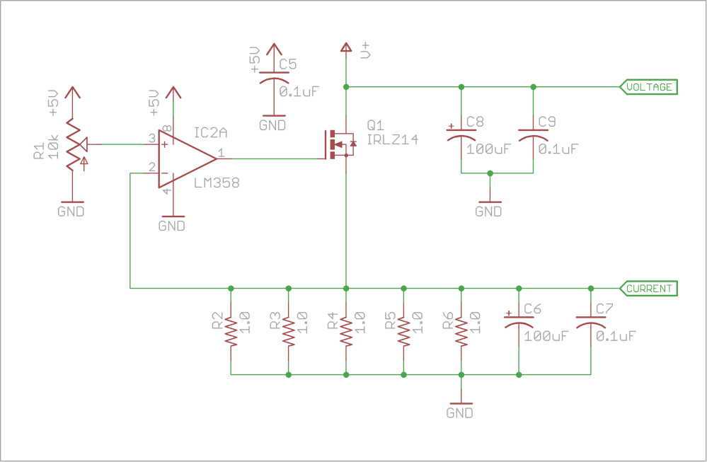 medium resolution of active dummy load alex wende circuit diagram of the dummy load