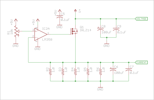 small resolution of active dummy load alex wende circuit diagram of the dummy load
