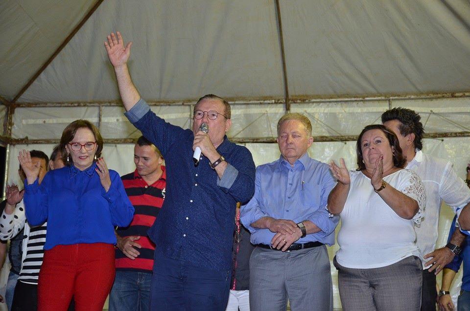 Enquanto oposicionistas tentam antecipar debate político Jaime Calado inaugura obras em São Gonçalo
