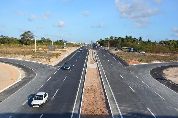 Duplicação da rodovia BR-406 foi liberada totalmente para o tráfego nesta manhã em São Gonçalo do Amarante