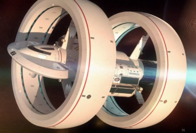 NASA dreams of a future starship Enterprise