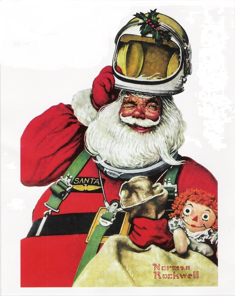 Yes, Virginia, There is a Santa Claus, Even on Mars