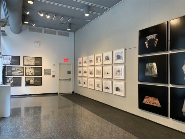 """Installation View of """"Wendel White: History in Black and White"""""""