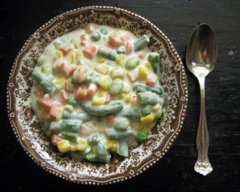 Creamy Parmesan Vegetables