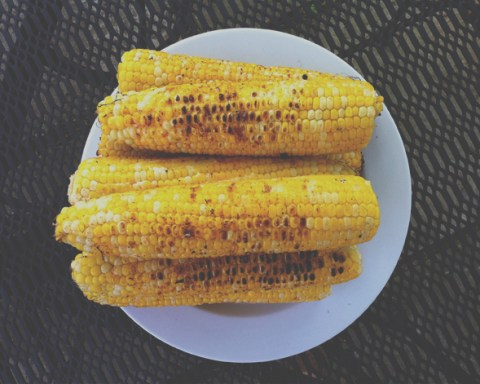 Grilled corn on the cob from Wenderly.com