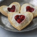 Cherry Heart Hand Pies
