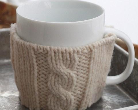 DIY Sweater Mug Warmer