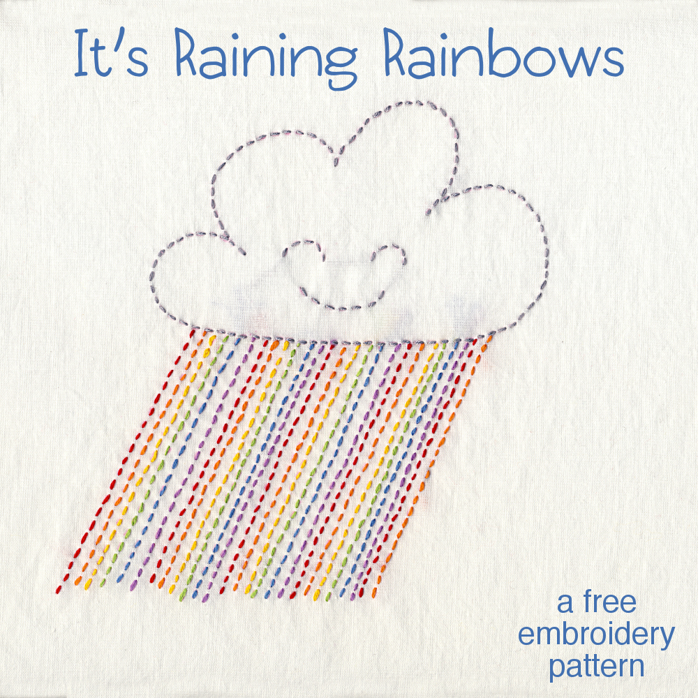 it s raining rainbows