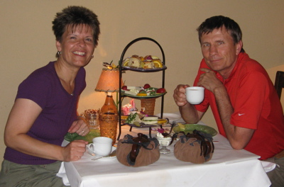 Full afternoon tea at The Tea Room was delicious and filling.