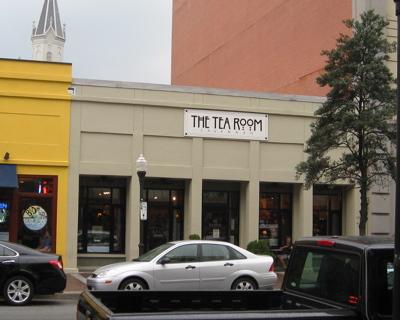The Tea Room in Savannah, Georgia